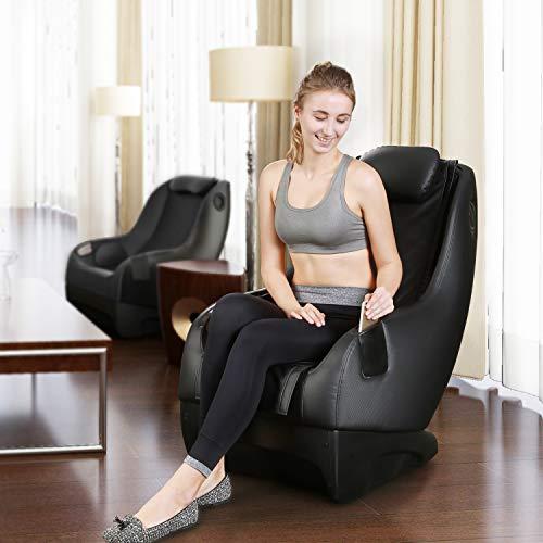 Naipo Shiatsu Massage Stuhl Massagesessel Ganzkörpermassagegerät mit SL Track, 3D Surround Sound Musik - 8