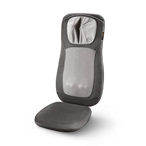 Medisana MC 822 Shiatsu - Massagesitzauflage (geeignet bis Körpergröße 1,85m) 3 Massagezonen, höhenverstellbare Nackenmassage, Vibrationsmassage