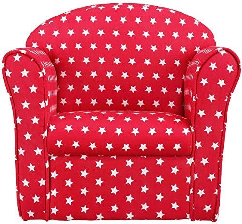 1home Classic Kindersofa Kindercouch Kindersessel Rot
