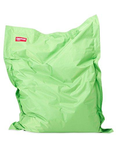 ROOMOX Original Junior Kinder-Sitzsack für drinnen und draußen Stoff - viele Farben wählbar