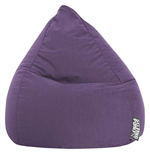 Sitzsack Easy L ca. 120 Liter lila (bis ca. 7 Jahre) - in vielen Farben wählbar