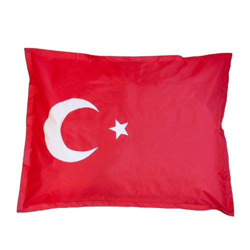 XXL Länderflaggen Riesensitzsack Türkei Indoor Outdoor Original Lumaland