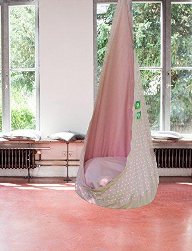 h ngesessel h ngeh hle relaxme f r kinder pink entspannter alltag. Black Bedroom Furniture Sets. Home Design Ideas