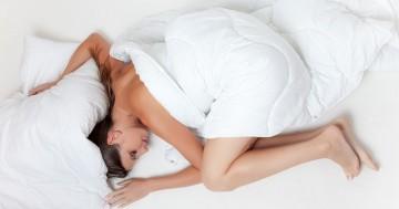 Schlafen als Entspannung