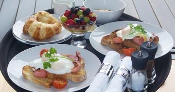 Frühstück mit Entspannung