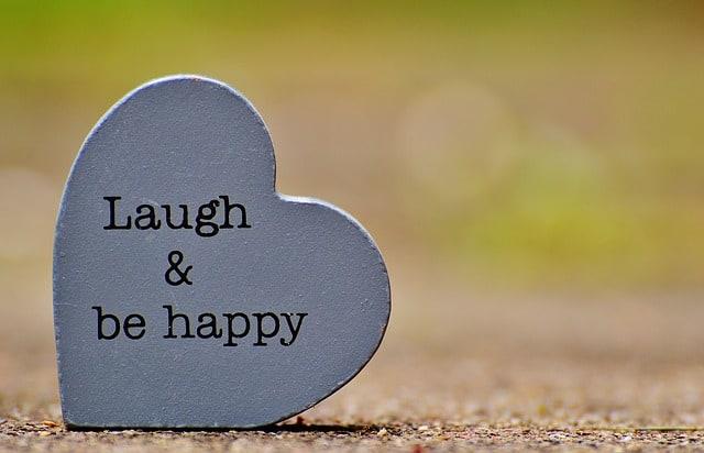 Lachen zur Entspannung