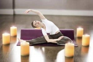 Yoga Entspannung und Yoga Fitness - in einem